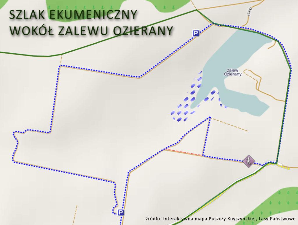 Szlak Ekumeniczny wokół zalewu Ozierany